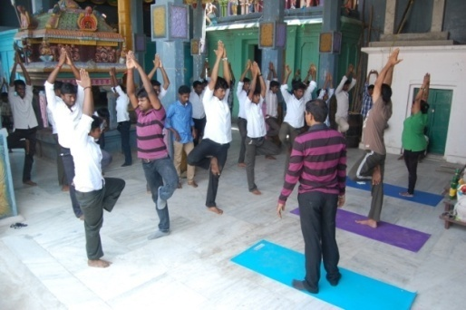 Yoga Club of Mailam Engineering College